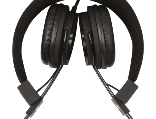 V7 Stereo Headset schwarz